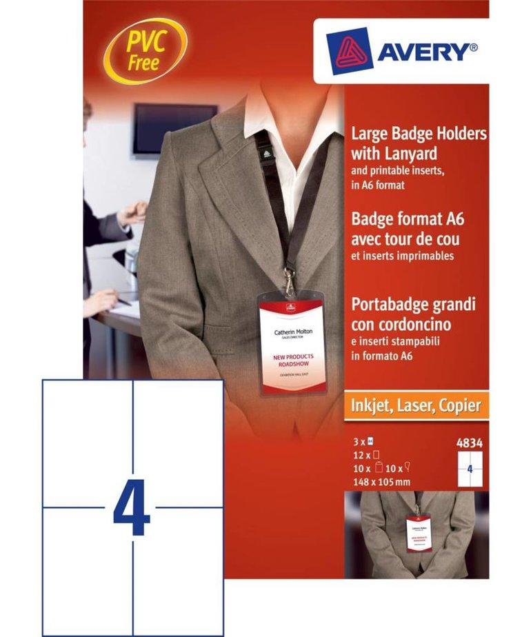Avery 4834 XL