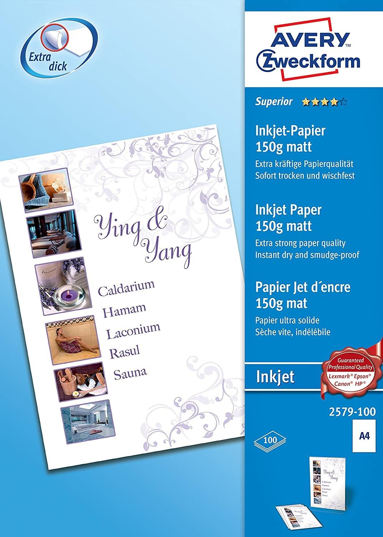 Inkjetprinter  Papier