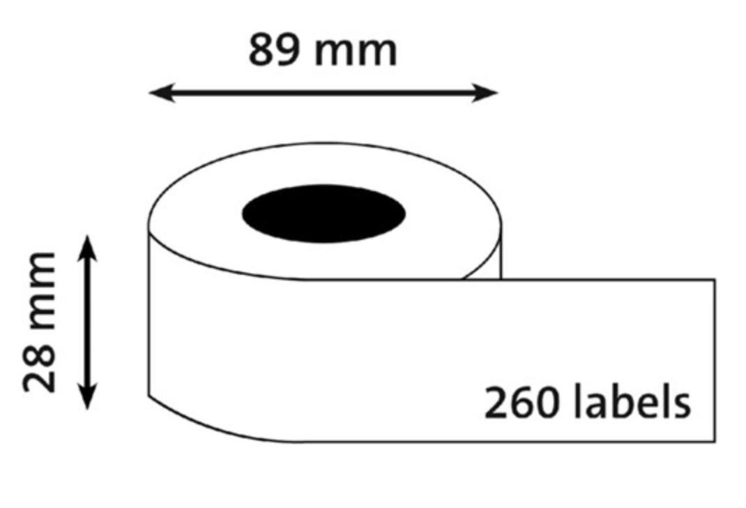 Universele Labelprinteretiketten