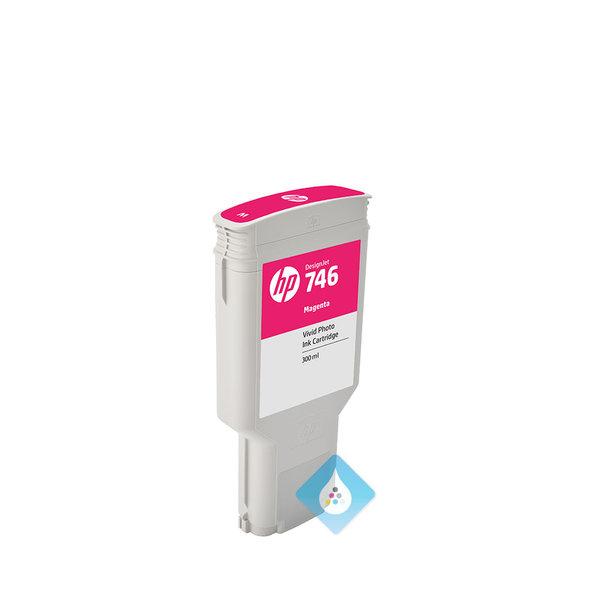 HP 746 DesignJet inktcartridge 300 ml