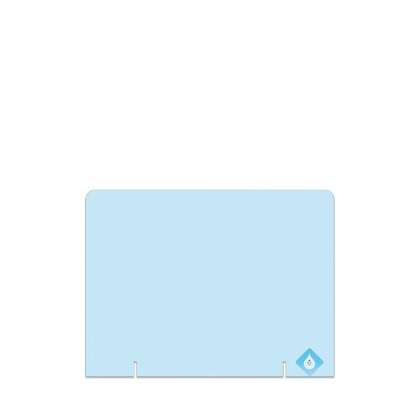 Plexiglas scherm staand zonder uitsparing- ECHT DIRECT LEVERBAAR