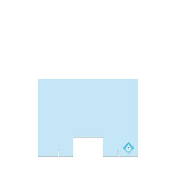 Plexiglas Manicure-scherm staand- DIRECT LEVERBAAR