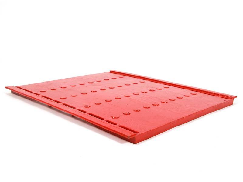 Pro Step Cast iron 732x635 mm with corner 5 mm closed