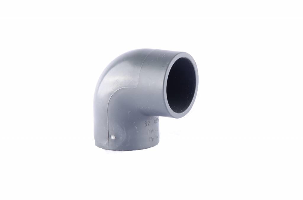 PVC elbow 90'