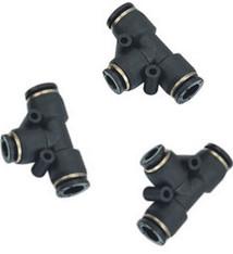 Vari Plus Taschen T-Luftkupplung ø6 mm mit 3facher Einführung