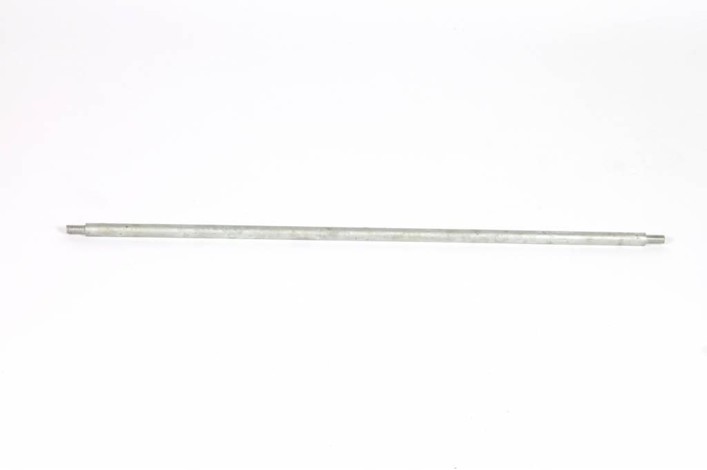 Stang ø14x715 mm RVS 2 zijden M10x20