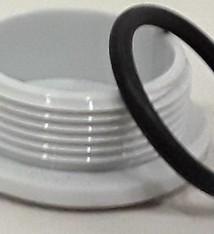 Dop klein verwarmingsplaat incl. ring