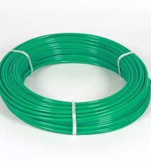 Vari Plus Air hose PE ø10x8 mm, GREEN / 100m