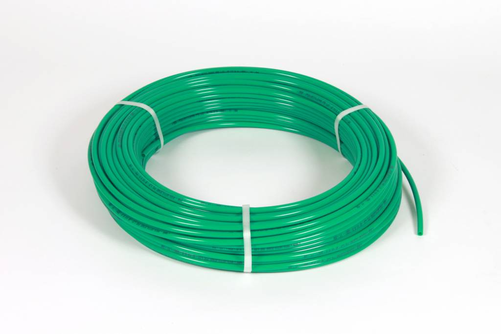 Vari Plus Air hose PE ø10x8 mm, GREEN / 100m