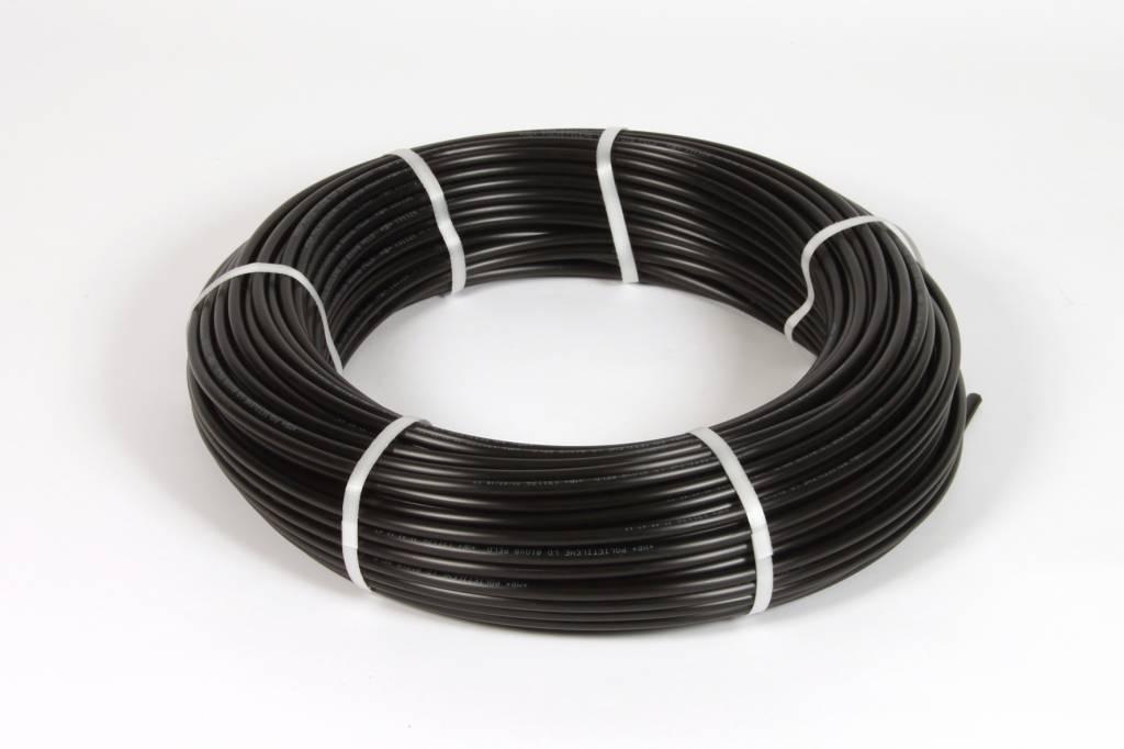 Vari Plus Air hose PE ø10x8 mm, BLACK / 100m