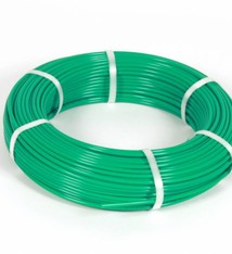 Vari Plus Air hose PE ø6x4mm, GREEN / 100m