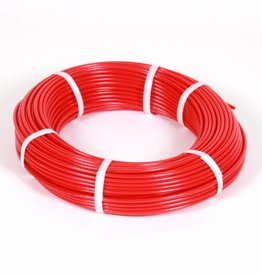 Vari Plus Air hose PE ø6x4 mm, RED / 100m