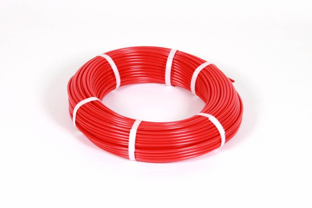 Vari Plus Air hose PE ø6x4 mm, RED / 100m