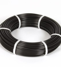 Vari Plus Air hose PE ø6x4 mm, BLACK / 100m