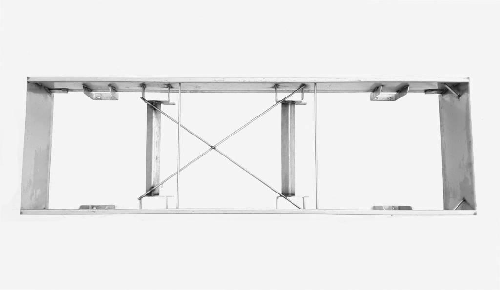 Vari Plus Vari Plus Middle frame 2106x640 mm stainless steel