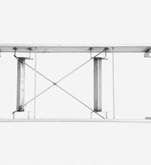 Vari Plus Vari Plus Middle frame 2106x690 mm stainless steel