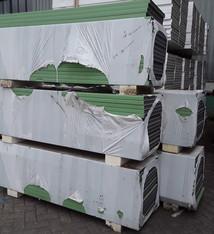 Kunststof paneel Groen 1750x500x35