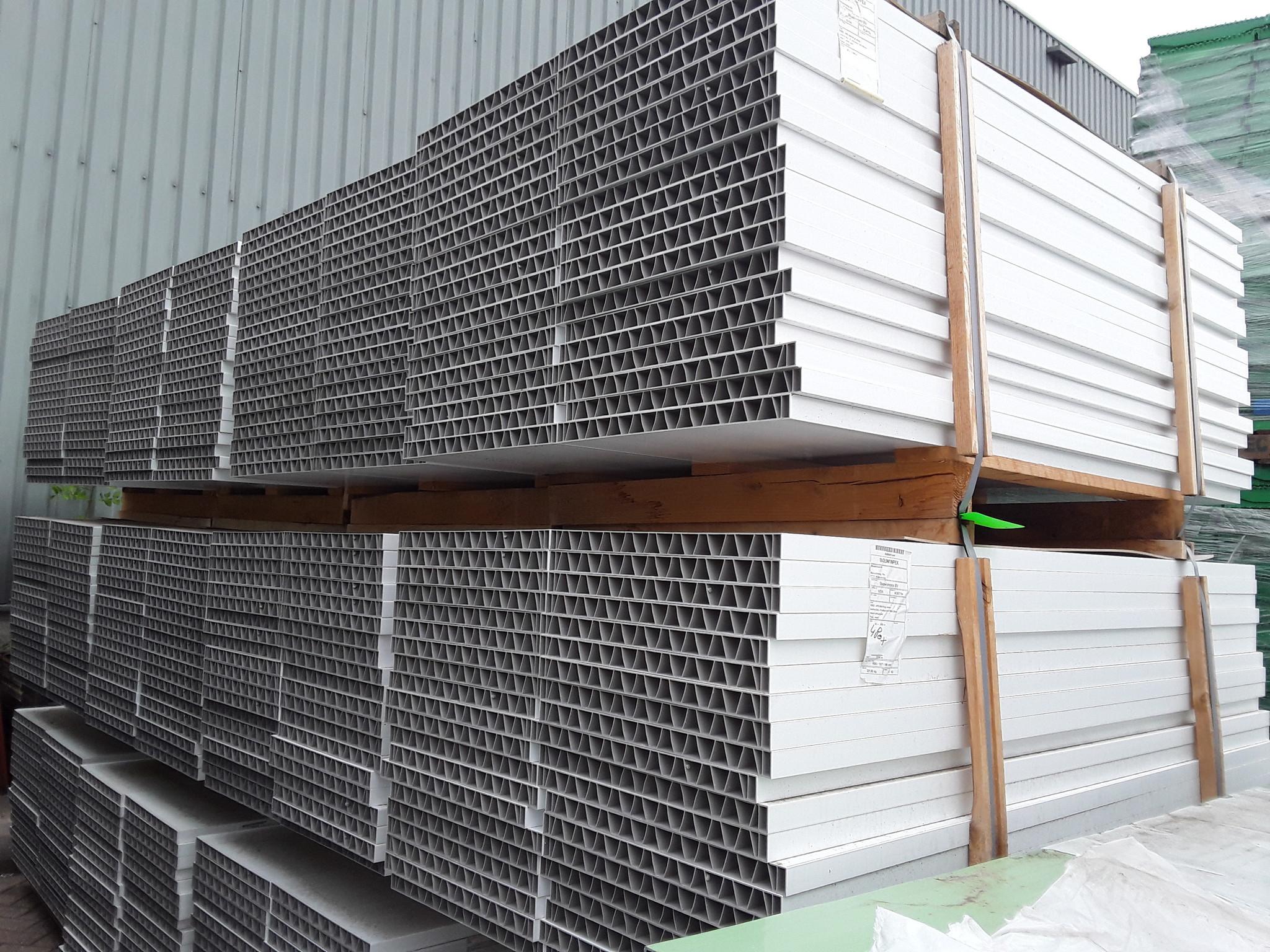 Plastic Panel White 1800x500x35