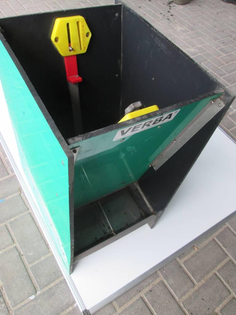 OPRUIMING: Droogvoerbak SL373D 3-vaks biggen dubbel