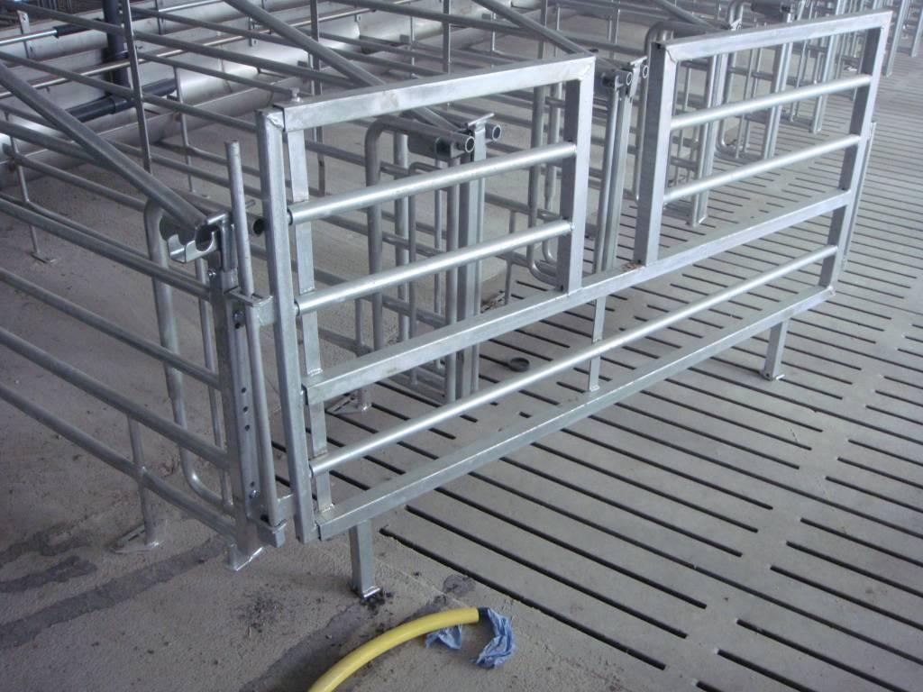 OPRUIMING: Uitschuifbare hekken met doorstap 1.60 m – 2.00 m