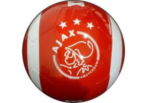 Ajax  Bal ajax leer groot rood est 1900