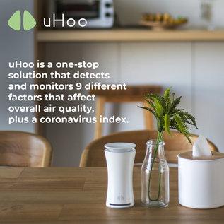 uHoo uHoo Le détecteur le plus perfectionné de toxines d'air intérieur
