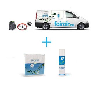 fairair Groen Onderhoud Ventilatiesysteem WTW + Luchtkanalen