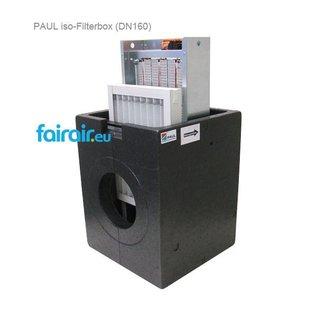 PAUL PAUL DEFROST PRE-HEATER BOX 160 / ISO-FILTERBOX DN 160 (250x350x40mm)