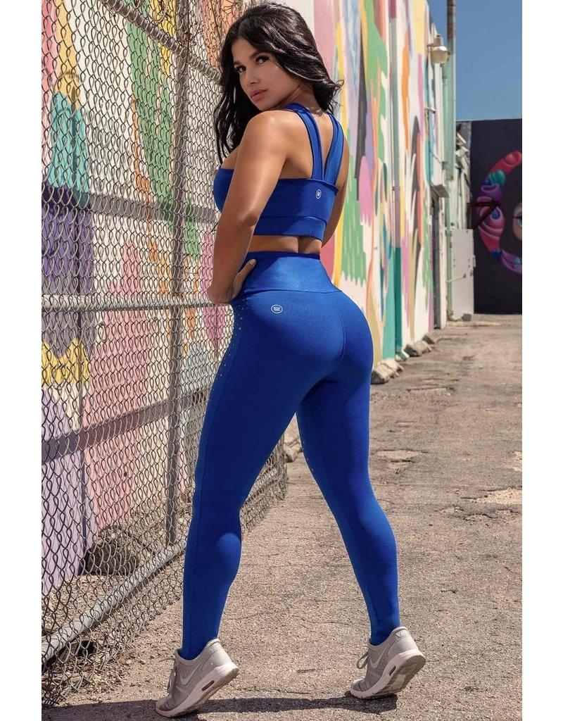 HIPKINI Leggings BLUE FITNESS