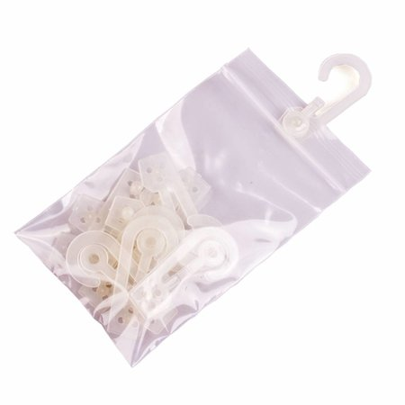 Ophanghaakjes voor gripzakken pakje van 100 stuks