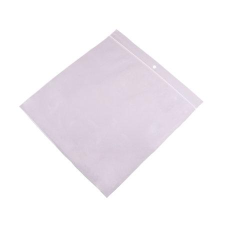 Gripzakken transparant extra sterk 100 x 100 mm uit 90 micron LDPE pakje van 1000 stuks