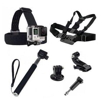 5 in 1 GoPro Accessoires Set met Selfie Stick , Chest Mount en Head Strap voor GoPro Hero 3 4 5  6