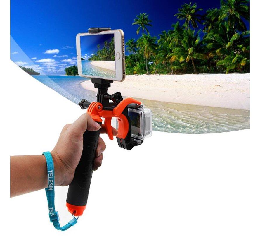 Bobber Pistol Grip voor GoPro Hero 5 4 3