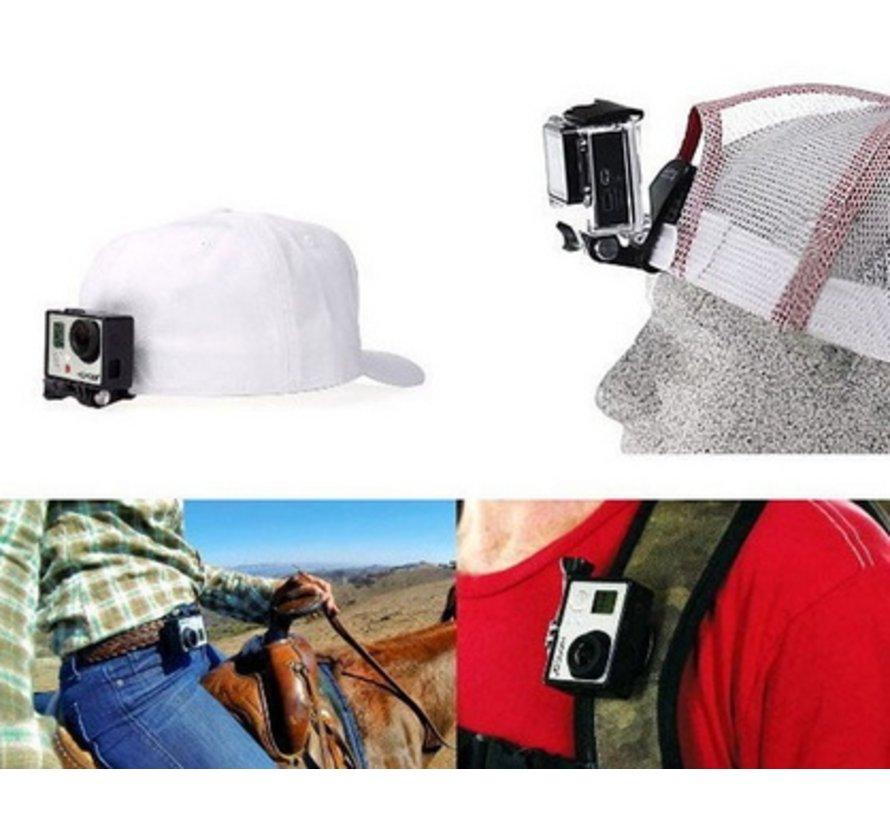 Quick Clip Mount voor GoPro en andere sportcams