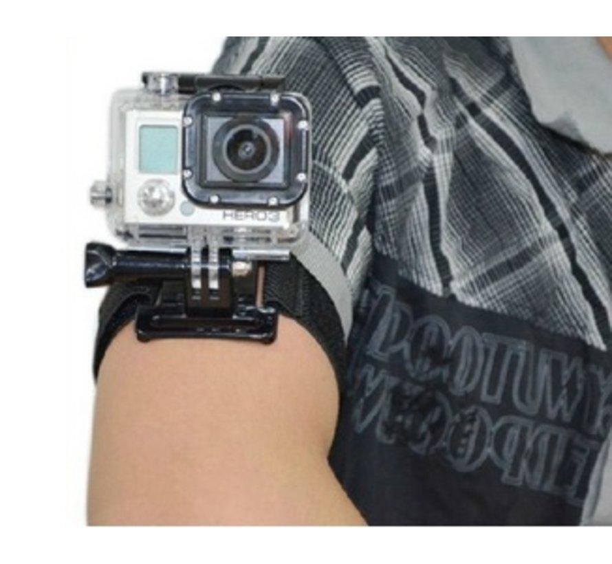 Wrist en Arm Strap mount voor GoPro en meer sport cameras