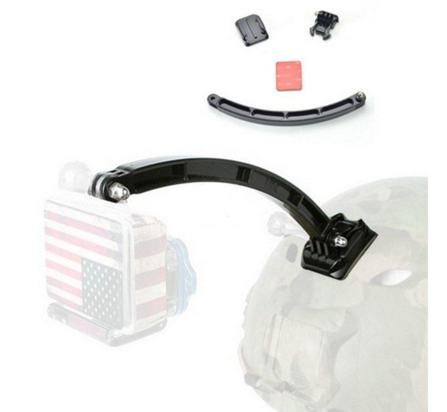 Helm arm extensie kit mount voor GoPro en meer sport cameras