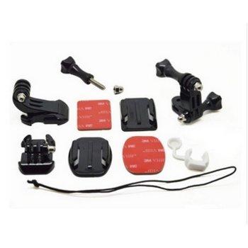 Grab Bag of mounts voor GoPro en meer sport cameras