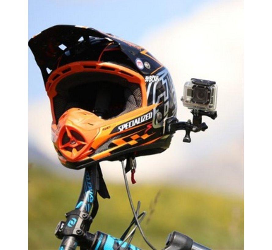 Helm Side mount kit voor GoPro Hero en andere sportcams