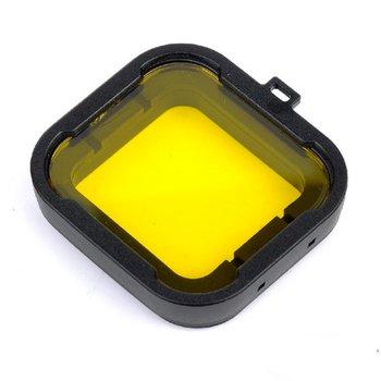 Gele Duik Filter voor behuizing GoPro Hero 3+ en 4