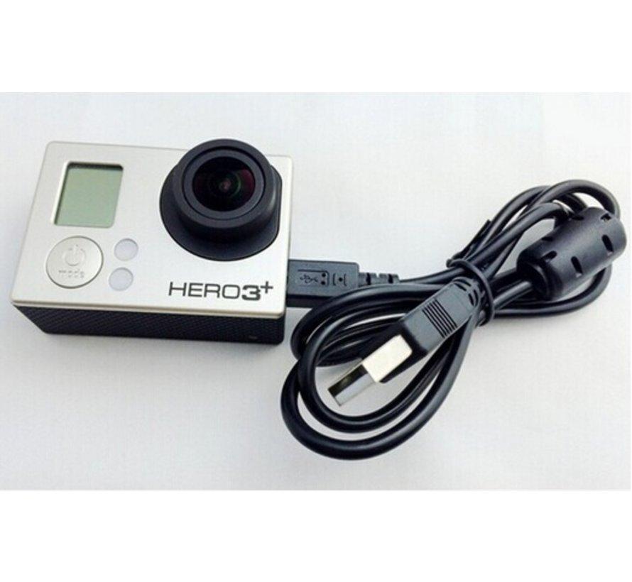 Laad en Data Kabel voor GoPro Hero 3/4