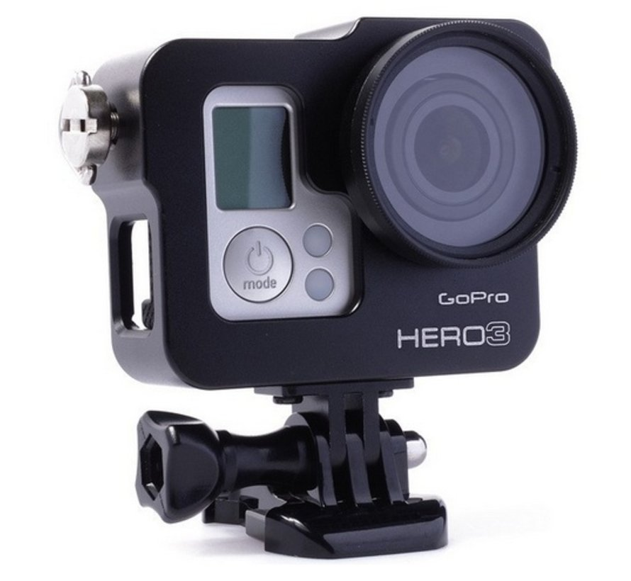 Aluminium Frame voor GoPro Hero 3 of 4