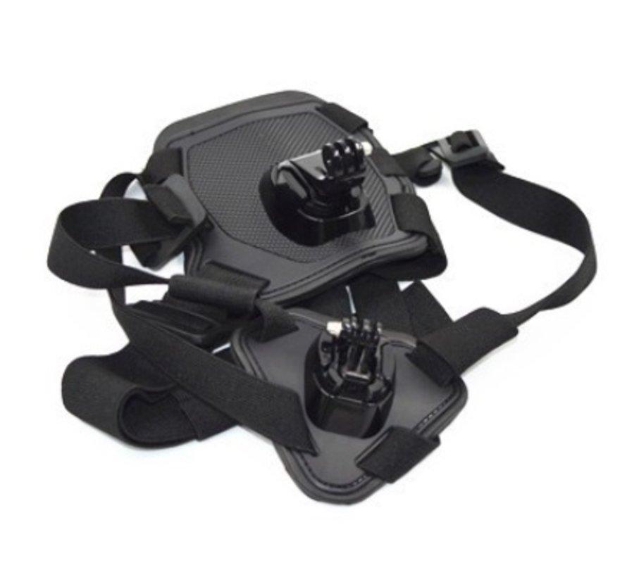 Fetch Dog Harnas mount voor GoPro en andere action cams