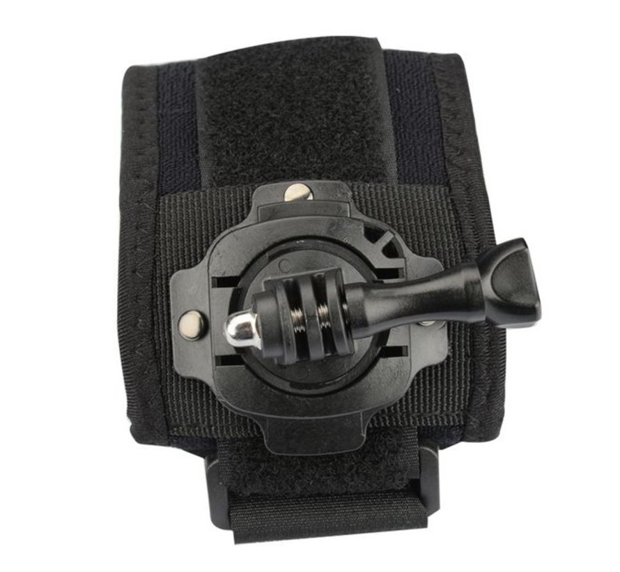 Extreme Pols Strap 360 rotation voor GoPro en andere sportcams