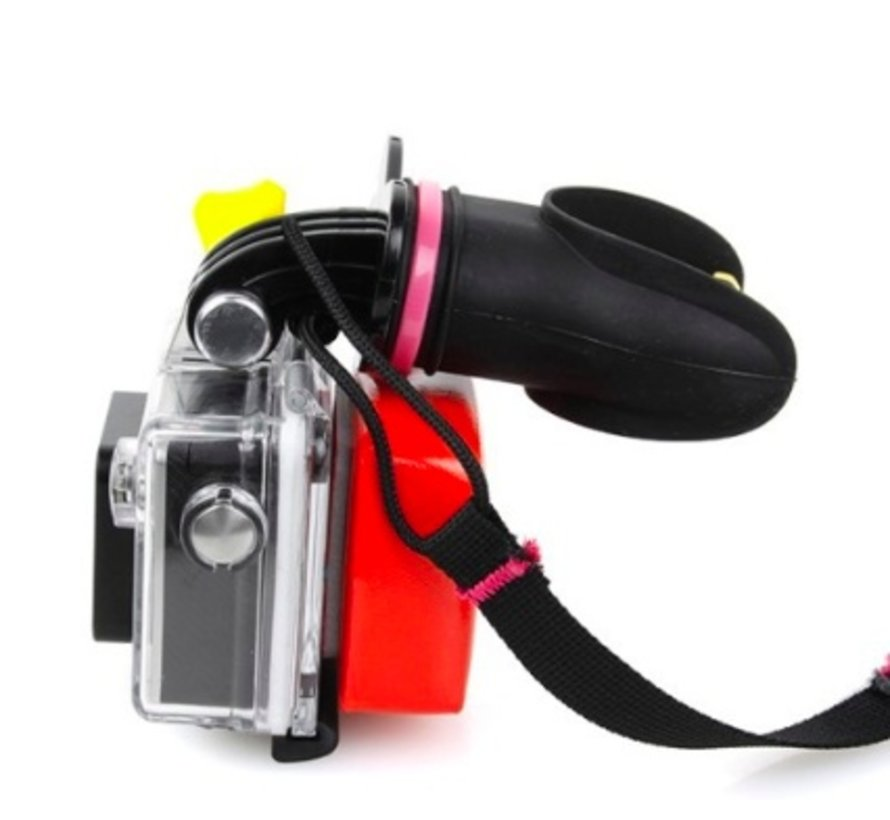 Mouth Mount voor GoPro Hero en andere sportcams