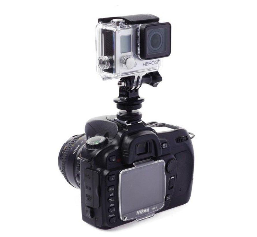 Hot Shoe Mount voor Spiegelreflexcamera's i.c.m. Sportcams