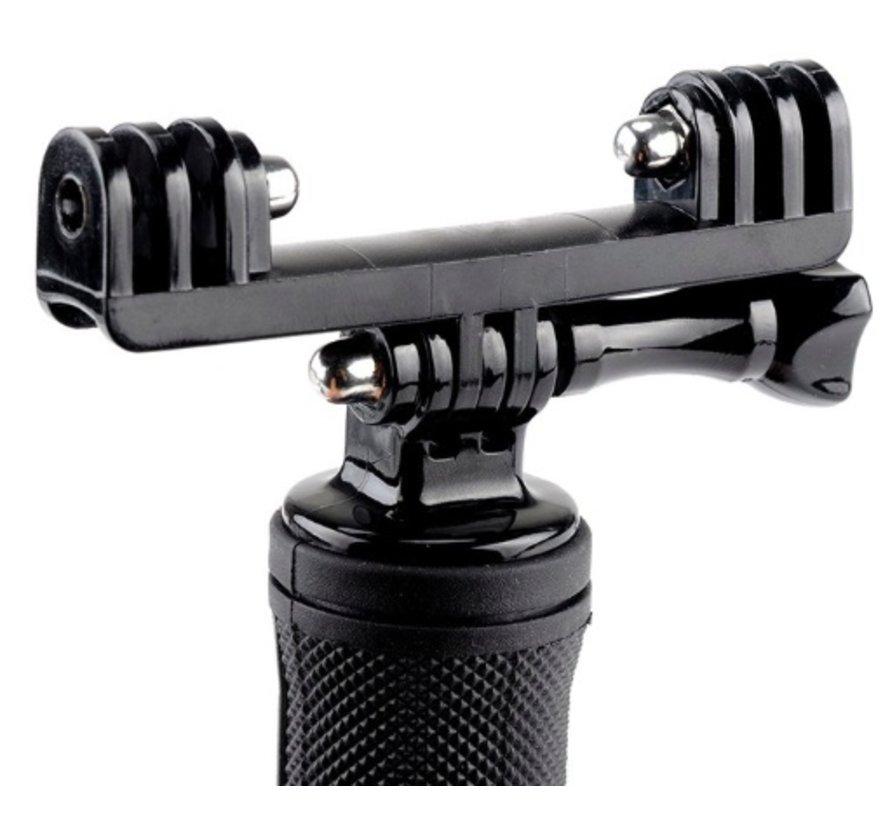 Dual Sportcam Holder Mount voor GoPro en andere sportcams
