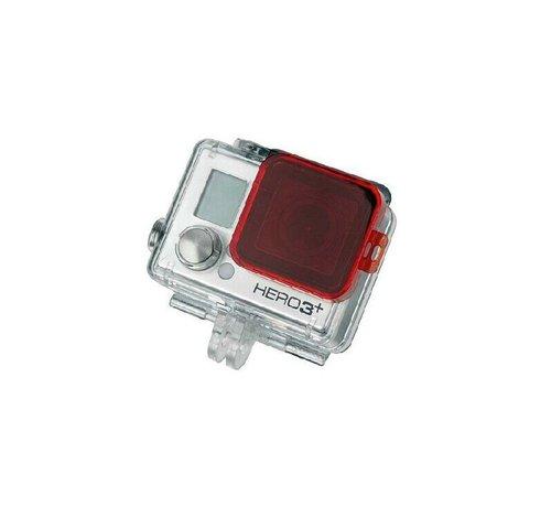 Rode Duik Filter voor GoPro Hero Standard Housing 3, 4 en Hero model