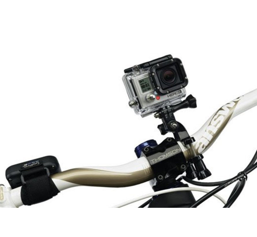 Handlebar Seatpost mount voor GoPro en andere action cams