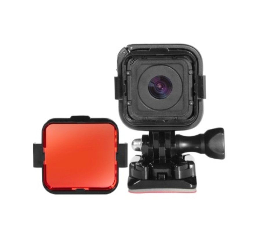 Red Dive Filter voor GoPro Hero 5 4 Session