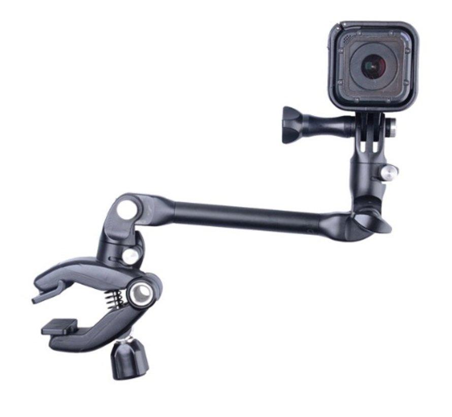 De Jam Clamp voor GoPro en andere Sportcams